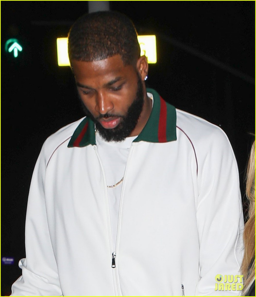 khloe kardashian tristan thompson date night 093875755