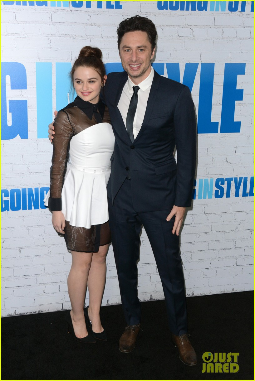 joey king going in style premiere 063880407