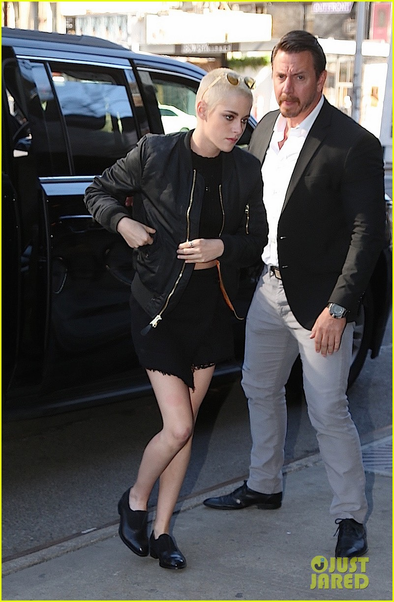 kristen stewart buzzed hair today show 033871875