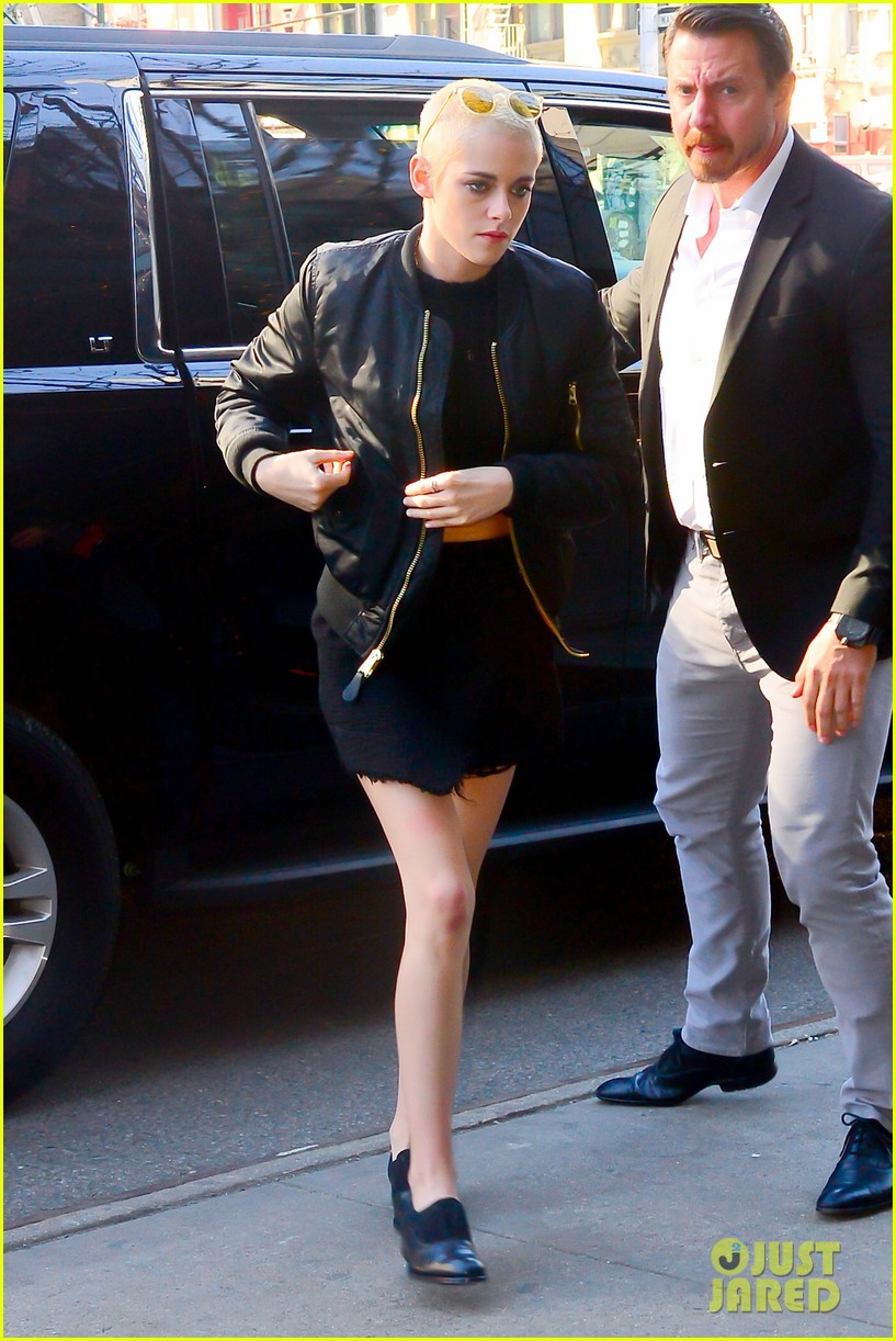 kristen stewart buzzed hair today show 043871876