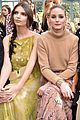 kate emily olivia sit front row at valentino 03