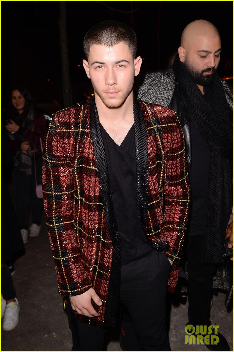 nicki minaj and nick jonas party at epic balmain after party2 013869362