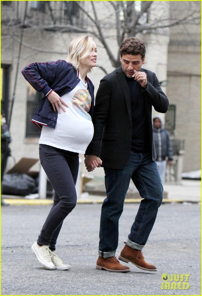 Olivia Wilde & Oscar Isaac Continue to Film 'Life Itself ...
