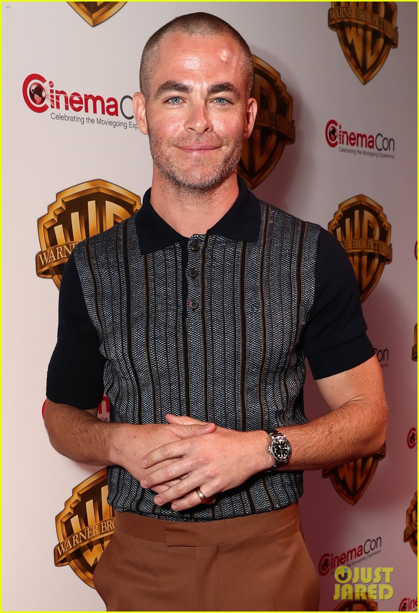 chris pine shaves off all his hair see his bald new haircut