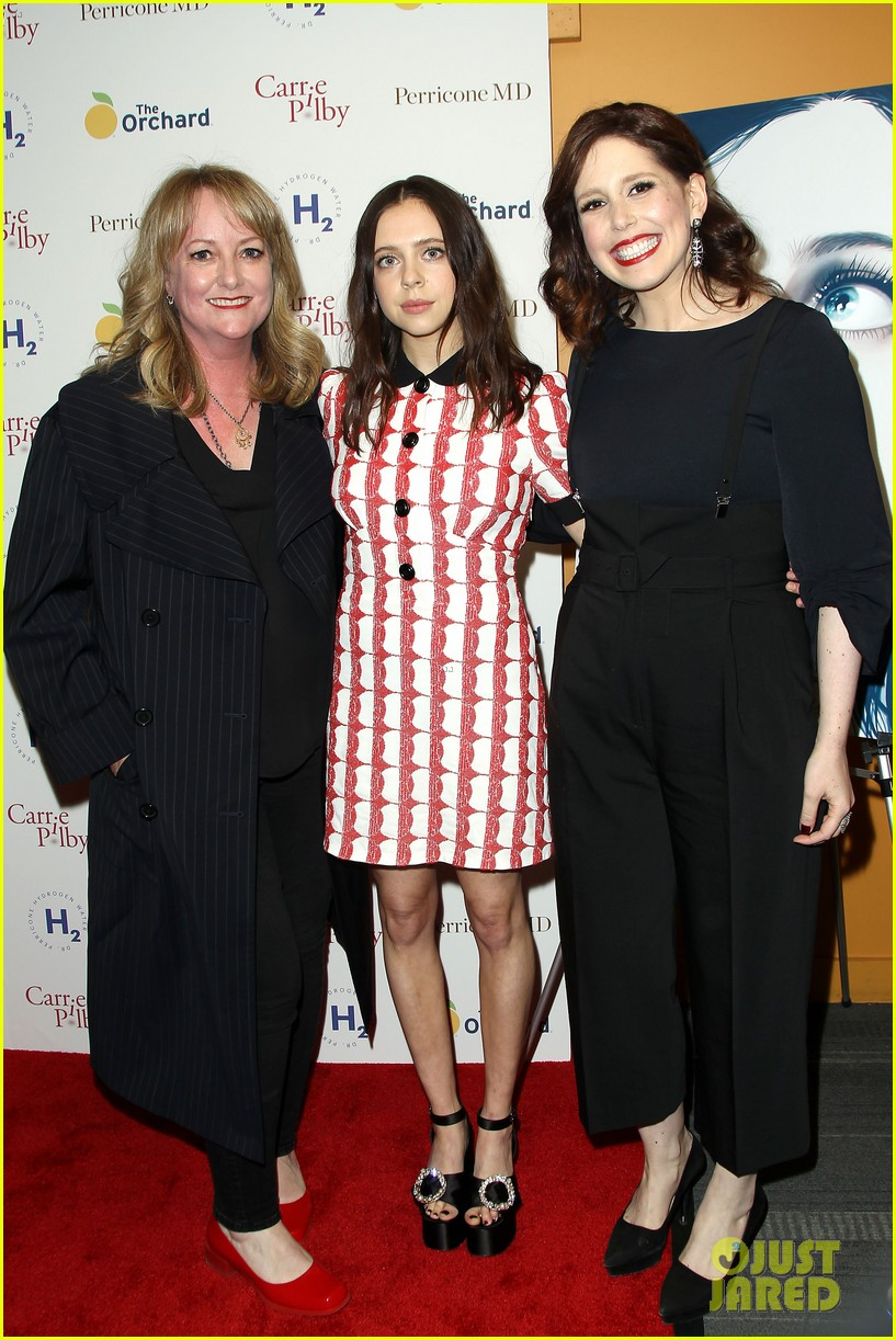 bel powley william moseley debut carrie pilby at nyc premiere 053878056