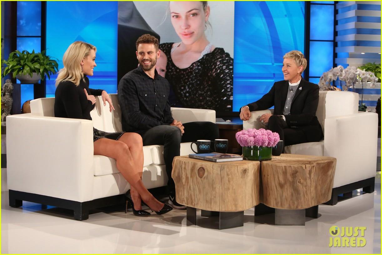 Nick viall vanessa grimaldi address criticism that they 39 re 39 awkward 39 watch now photo - Ellen show address ...