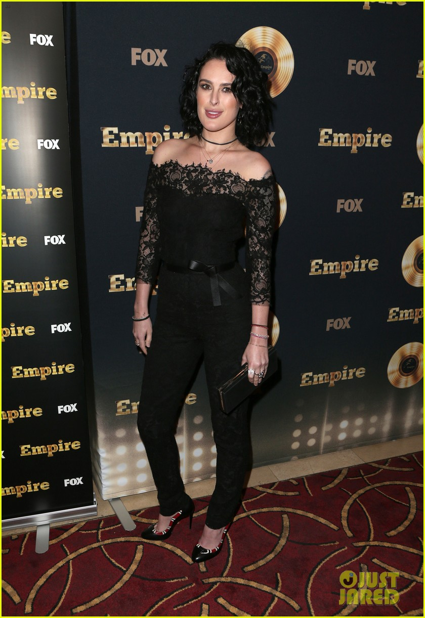 rumer willis celebrates her first empire episode at l a premiere 063876882