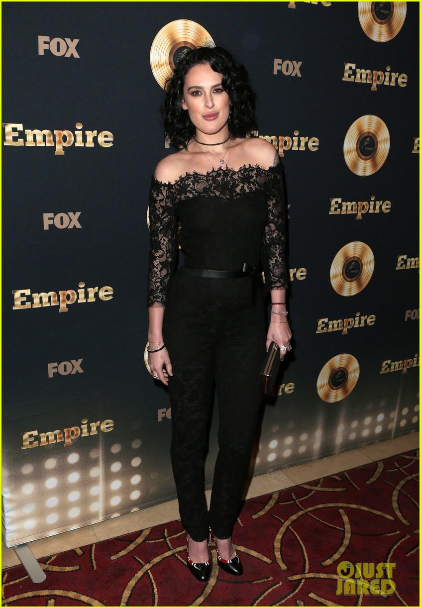 rumer willis celebrates her first empire episode at l a premiere 073876883