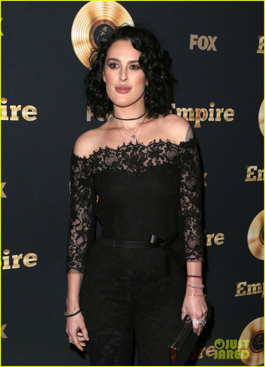 rumer willis celebrates her first empire episode at l a premiere 083876884