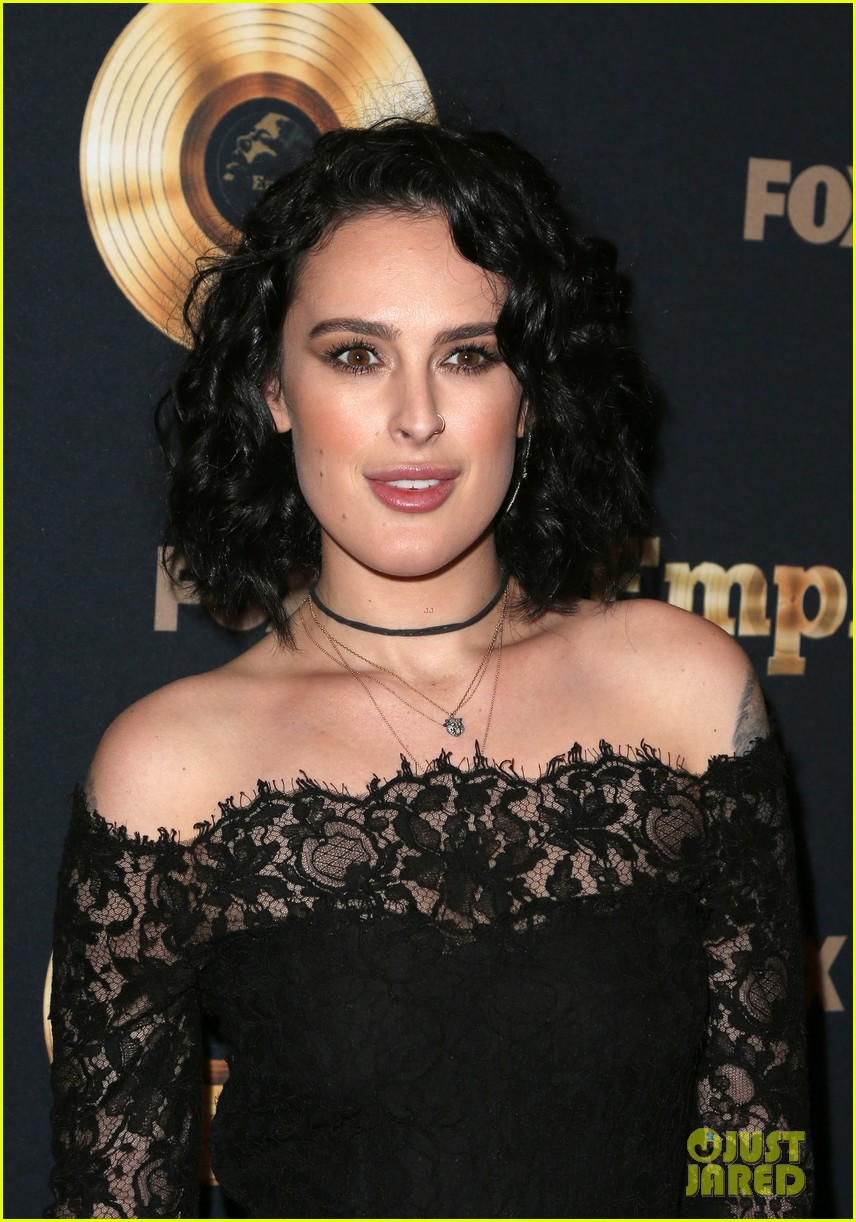 rumer willis celebrates her first empire episode at l a premiere 093876885
