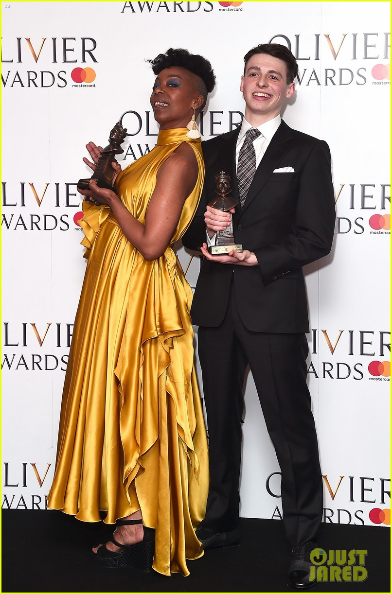 amber riley harry potter win big at olivier awards in london 023884294
