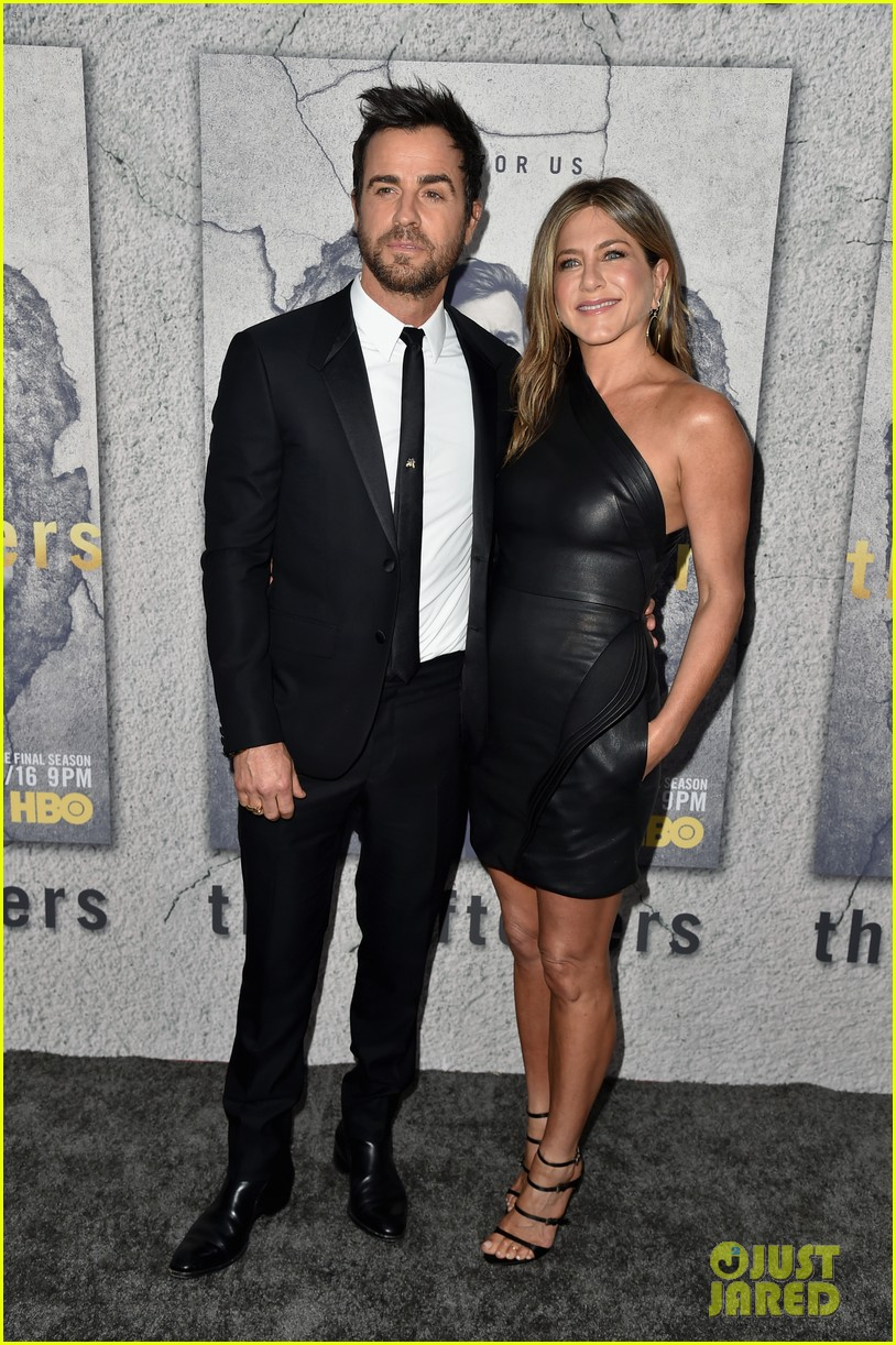 jennifer aniston justin theroux the leftovers premiere 073882185