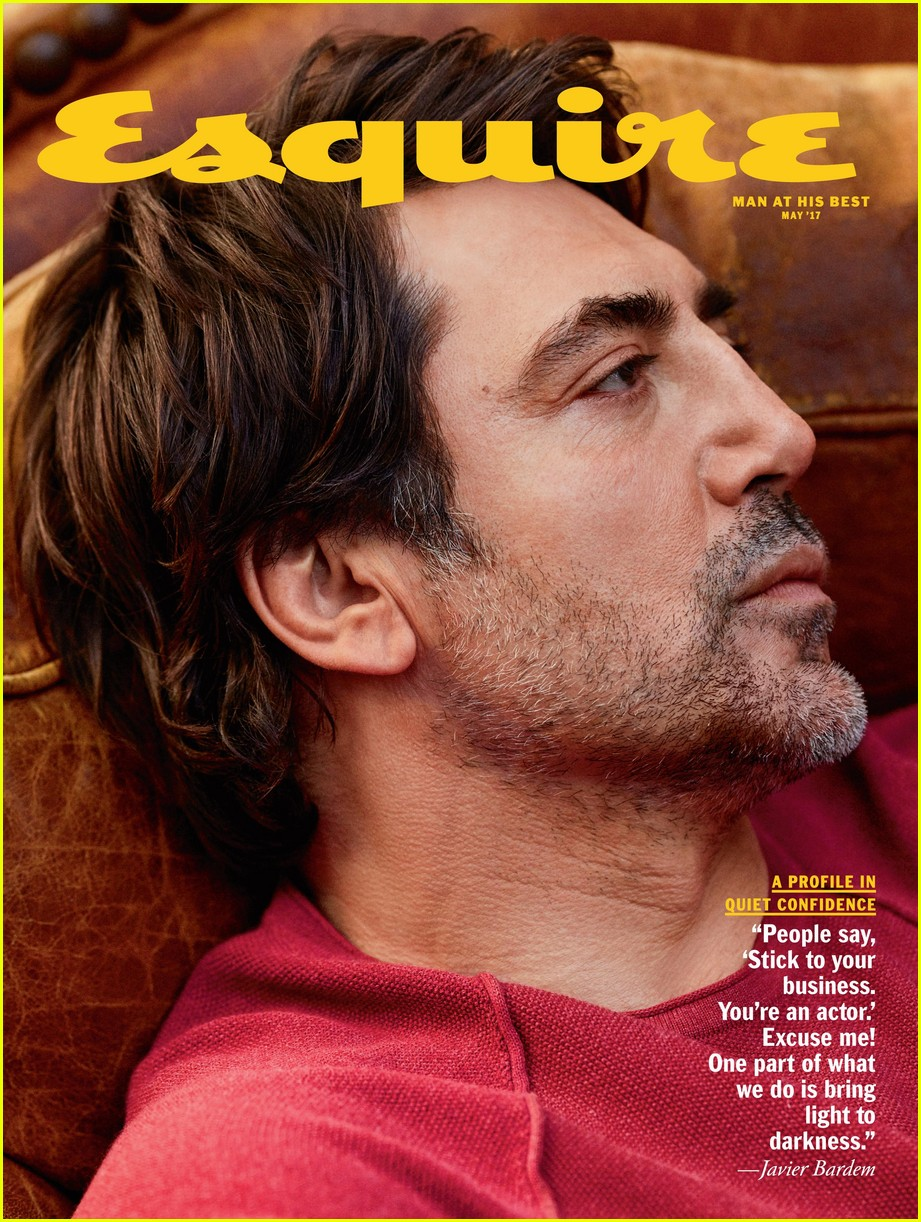 Javier Bardem Reveals Three of His Man Crushes!: Photo ...