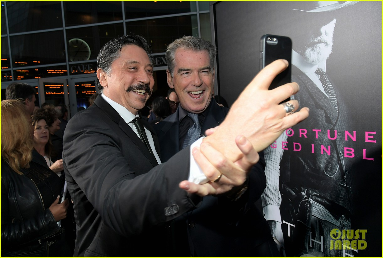 jessica chastain and pierce brosnan premiere the son in hollywood 033881716