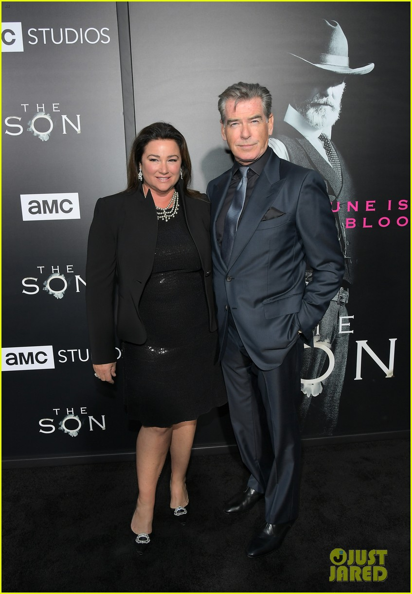 jessica chastain and pierce brosnan premiere the son in hollywood 103881723