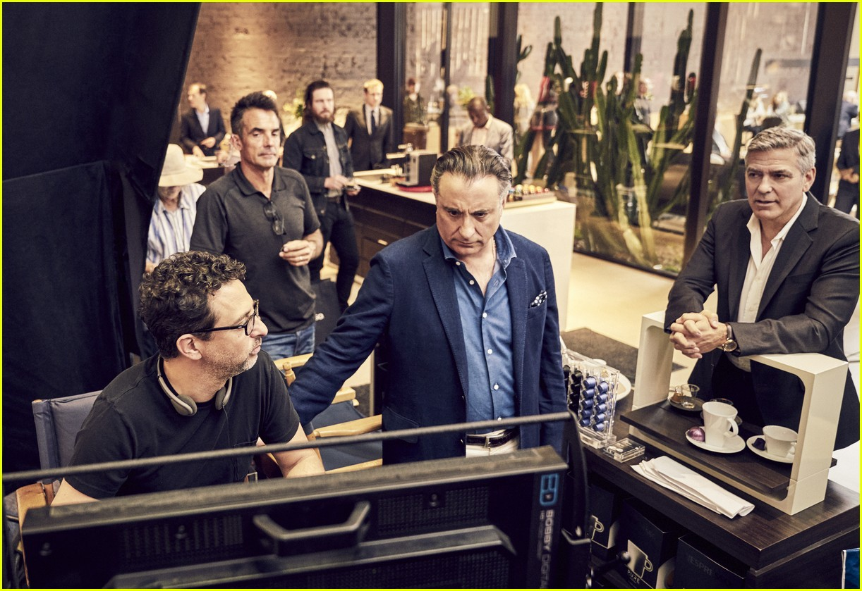 George Clooneys Nespresso Ad Features Many Famous Faces