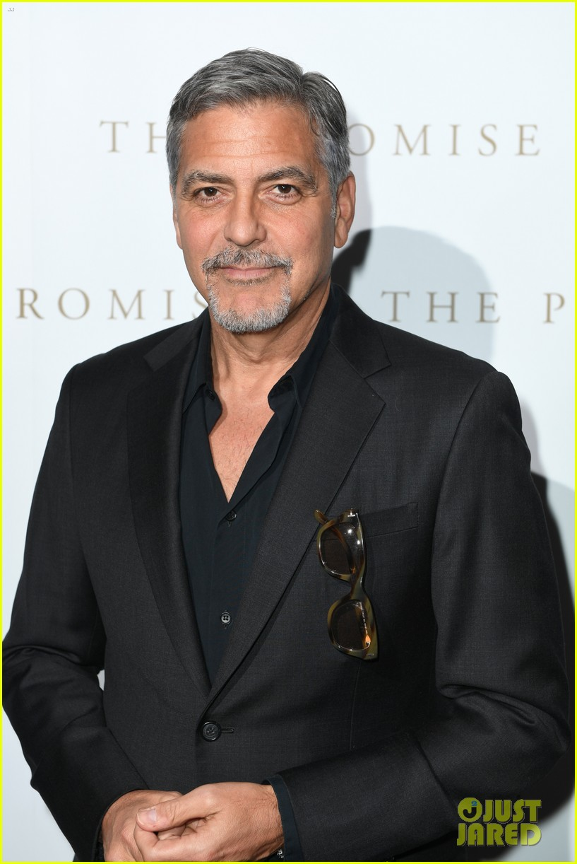 george clooney has less time for fun pranks on his co stars now 023882735