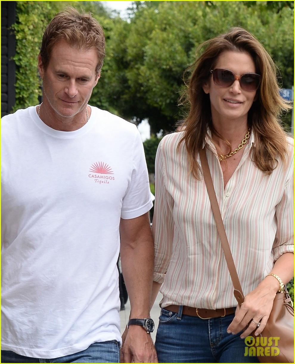 cindy crawford rande gerber picture perfect casual couple 043891994