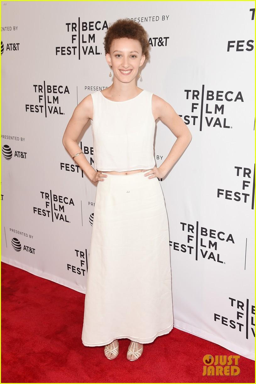 zoey deutch premieres new movie flower at tribeca film festival 043888722