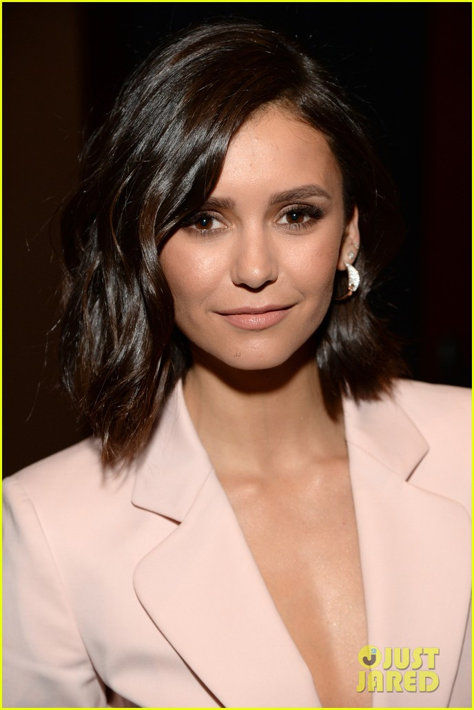 nina dobrev just adopted the cutest little puppy 023890895