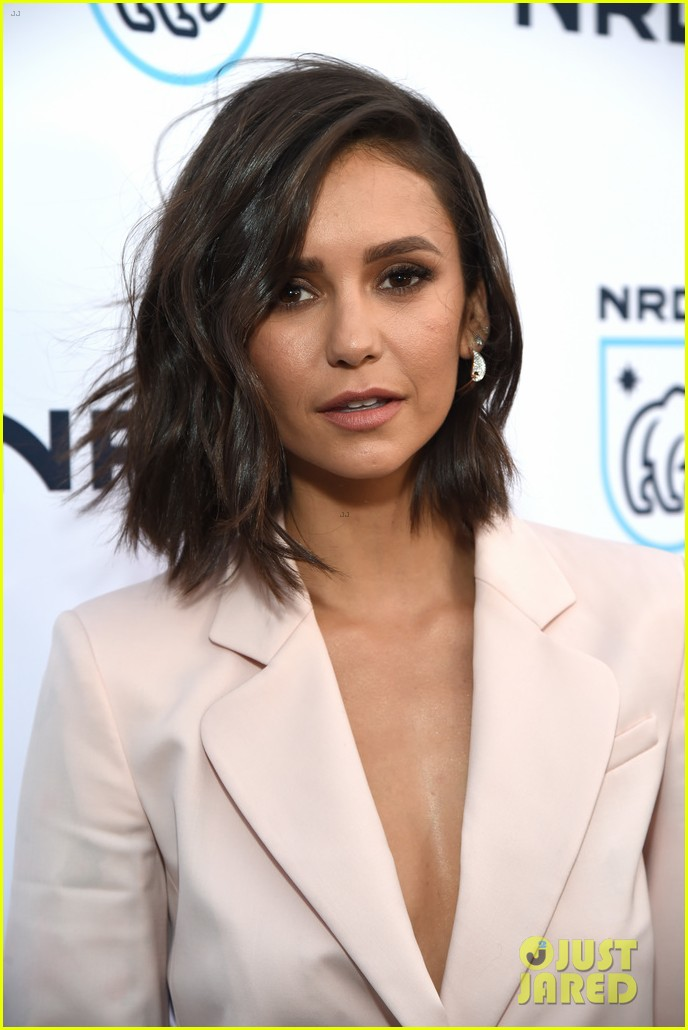 nina dobrev just adopted the cutest little puppy 053890898