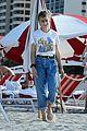 jaden smith new girlfriend odessa adlon show off major pda on beach 05