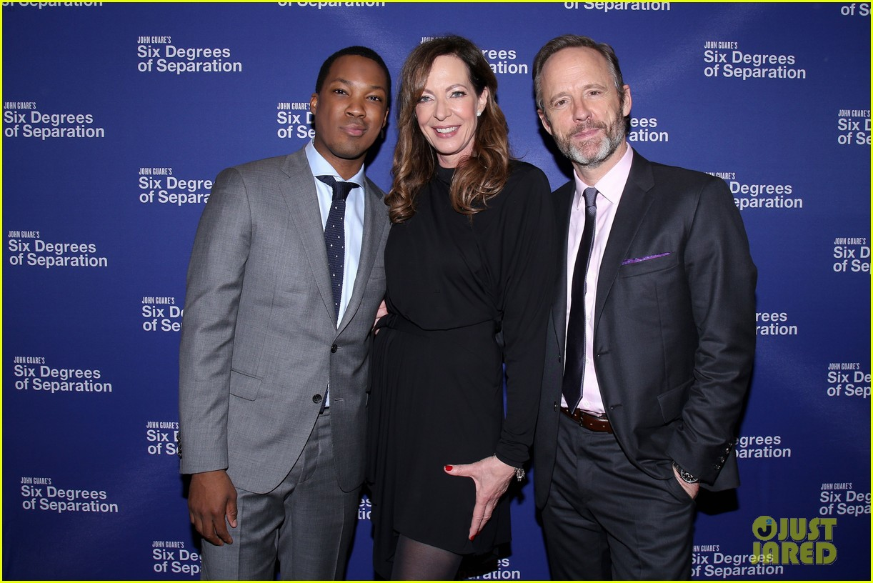 allison janney corey hawkins john benjamin hickey get star studded support at six degrees 033890753