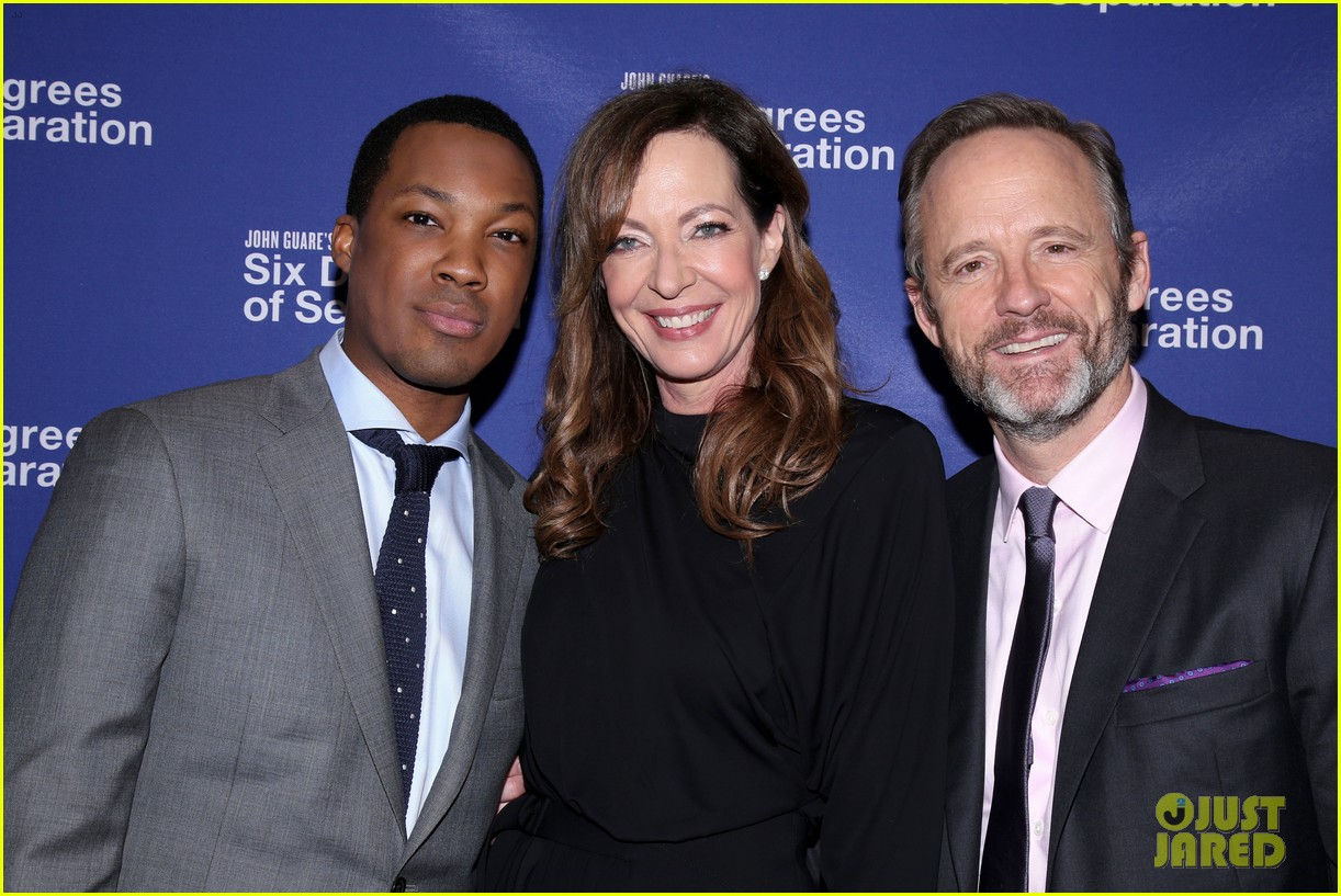 allison janney corey hawkins john benjamin hickey get star studded support at six degrees 223890772