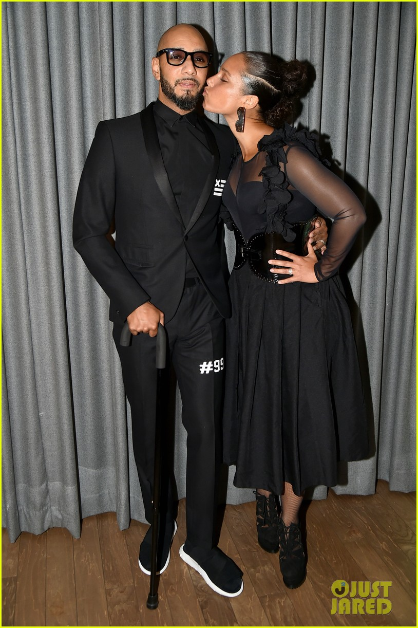 alicia keys swizz beatz have magical night together at brooklyn artists ball 013881828