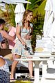 billie lourd taylor lautner couple up st barts 01
