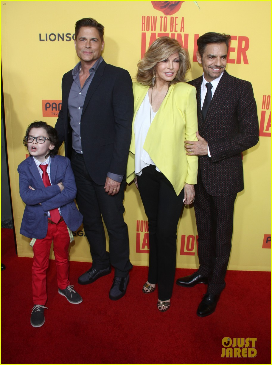 rob lowe joins how to be a latin lover cast at hollywood premiere 023891238