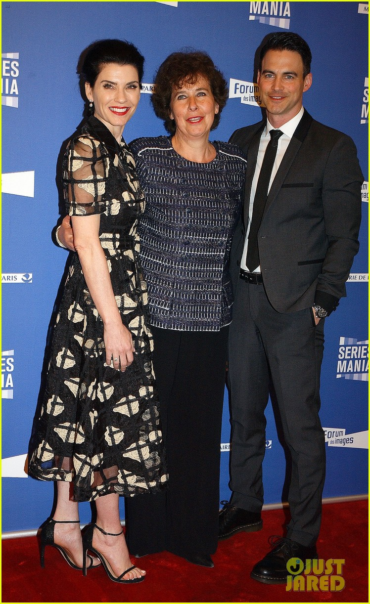 julianna margulies and husband keith lieberthal couple up for series mania festival in paris 123889023
