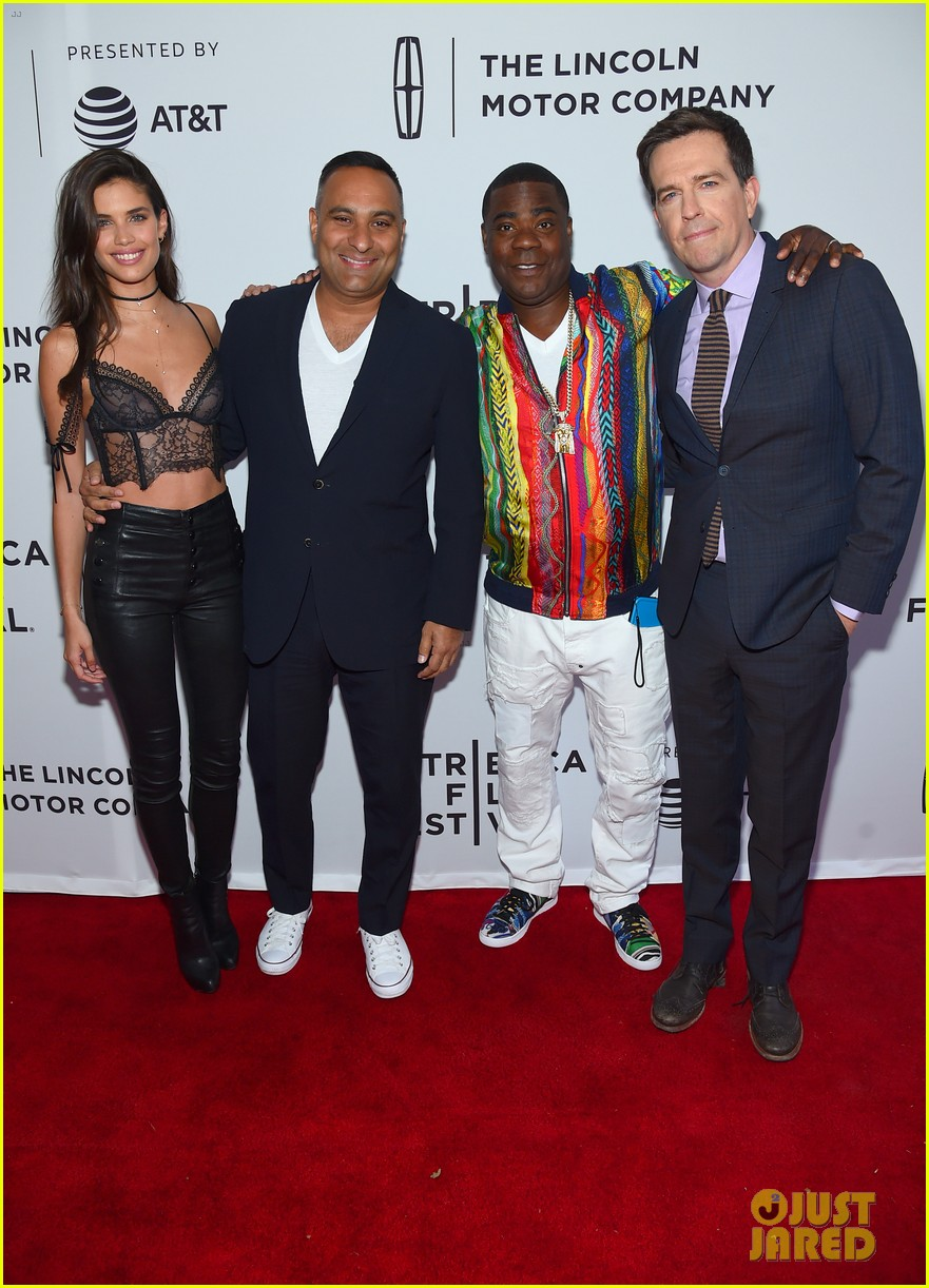 megan wolloever supports tracy morgan at tribeca premiere 053889939