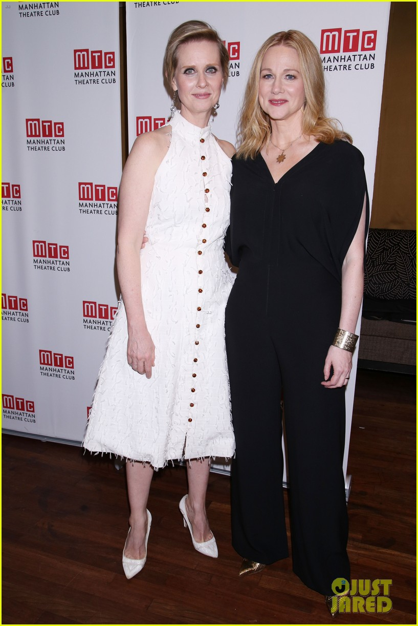 sarah paulson lily rabe have theater night at the little foxes opening 033888413