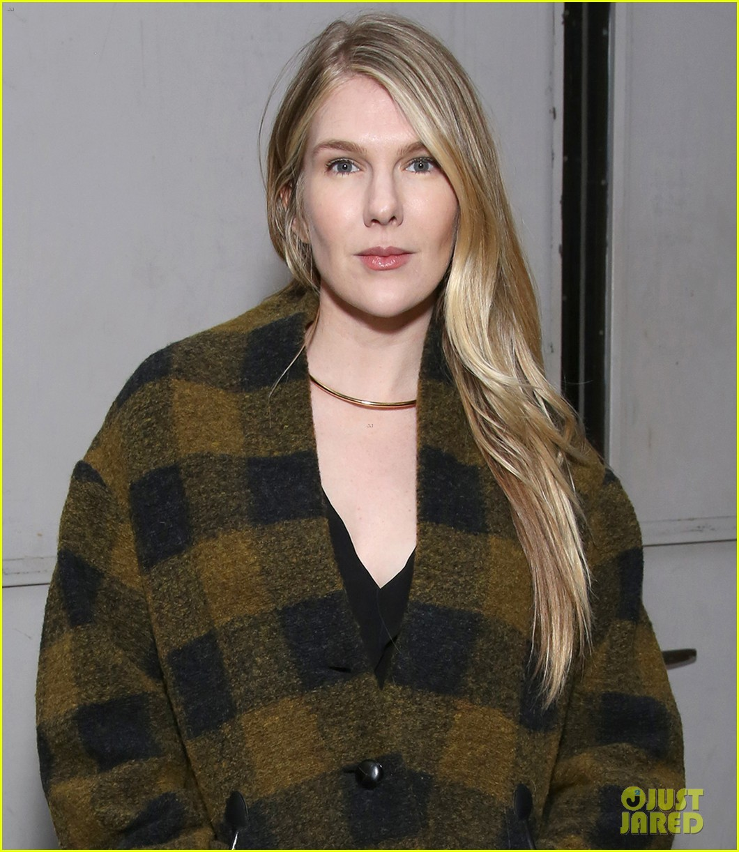sarah paulson lily rabe have theater night at the little foxes opening 083888418