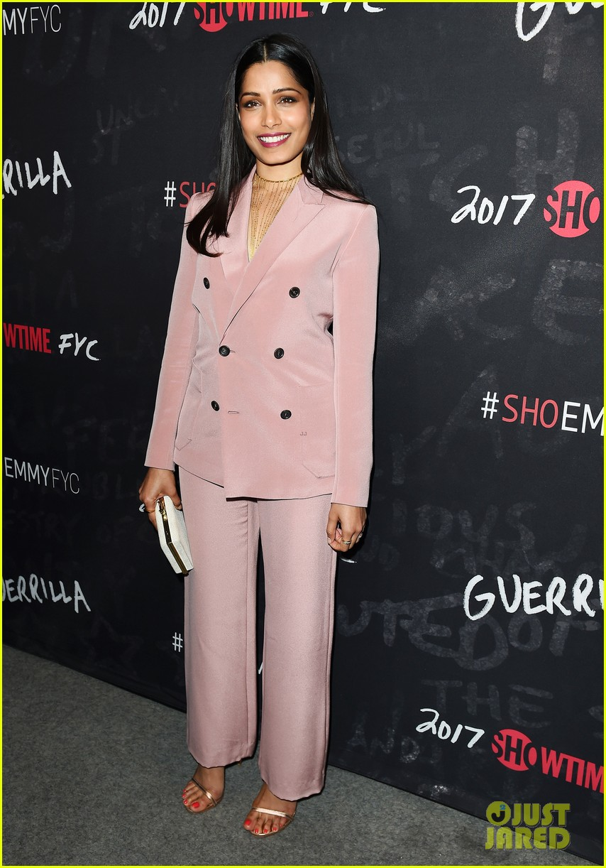 freida pinto hopes guerrilla will be that show that speaks to people 053885806