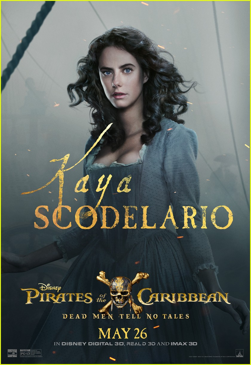 pirates caribbean character posters 023883323