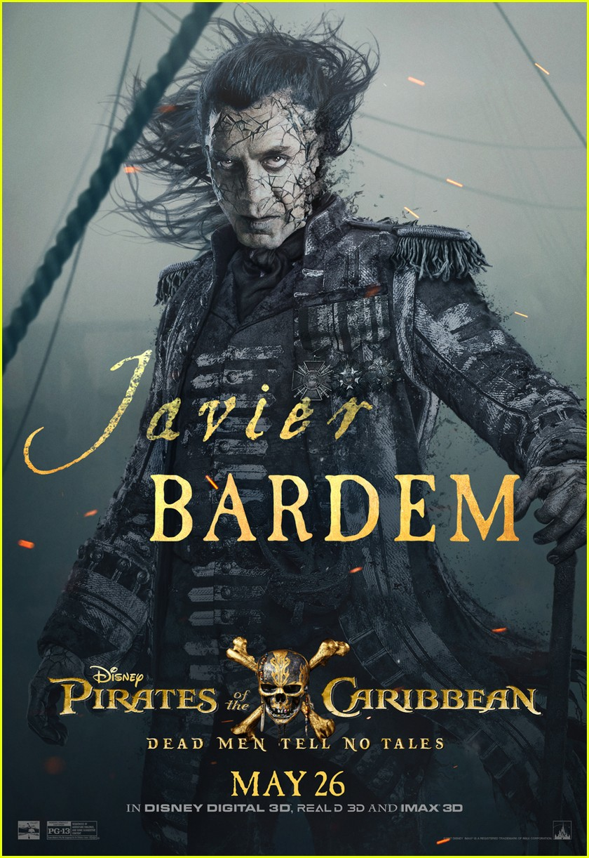 pirates caribbean character posters 053883326