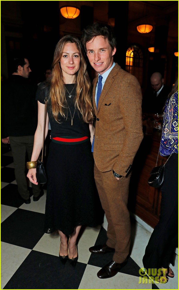 eddie redmayne hannah bagshawe couple up at the ned opening 053891068