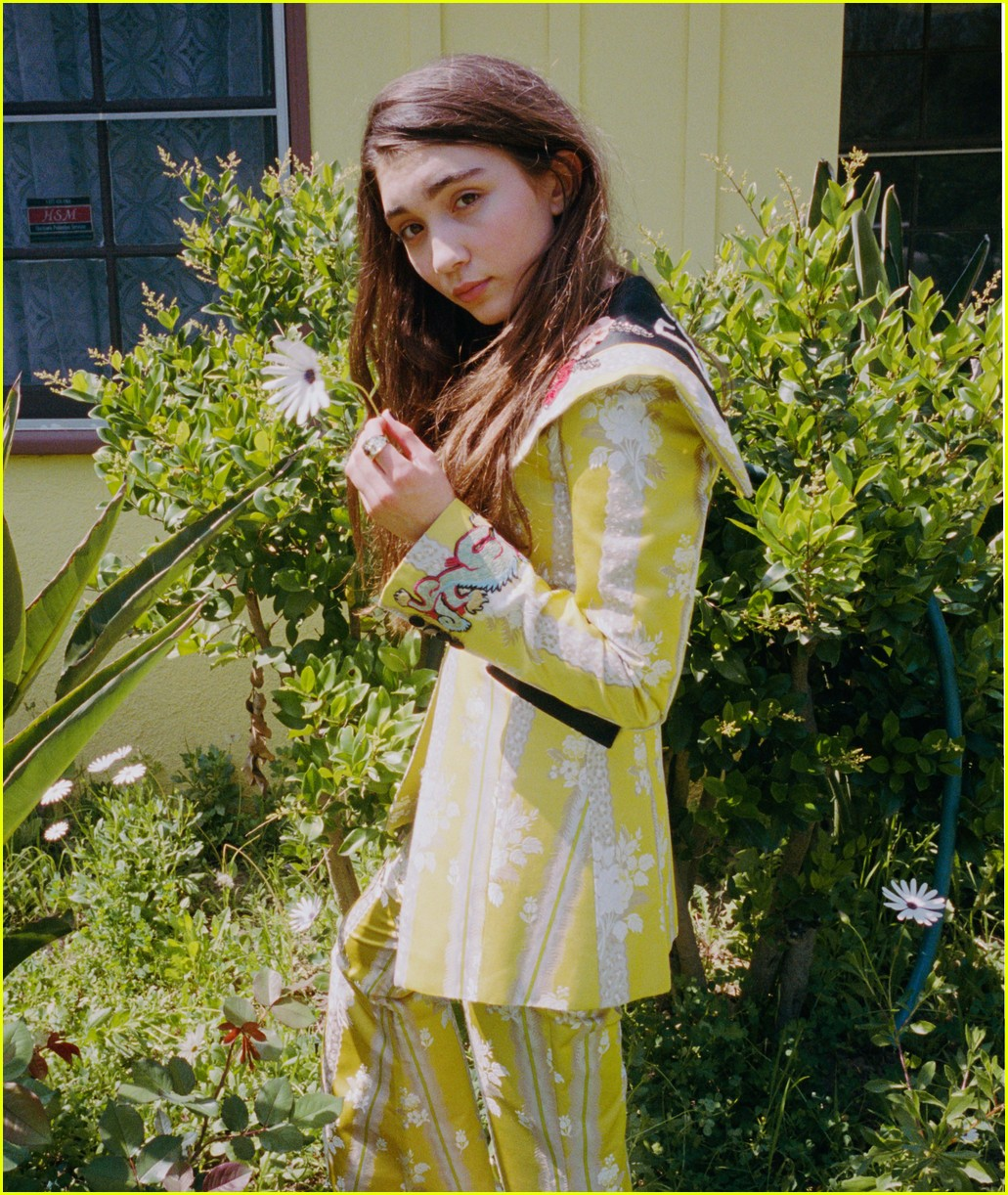 rowan blanchard cover of nylon 023887658