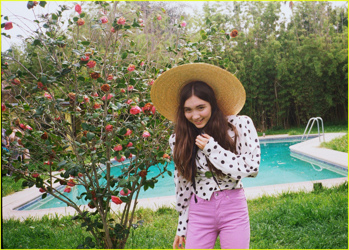 rowan blanchard cover of nylon 053887661