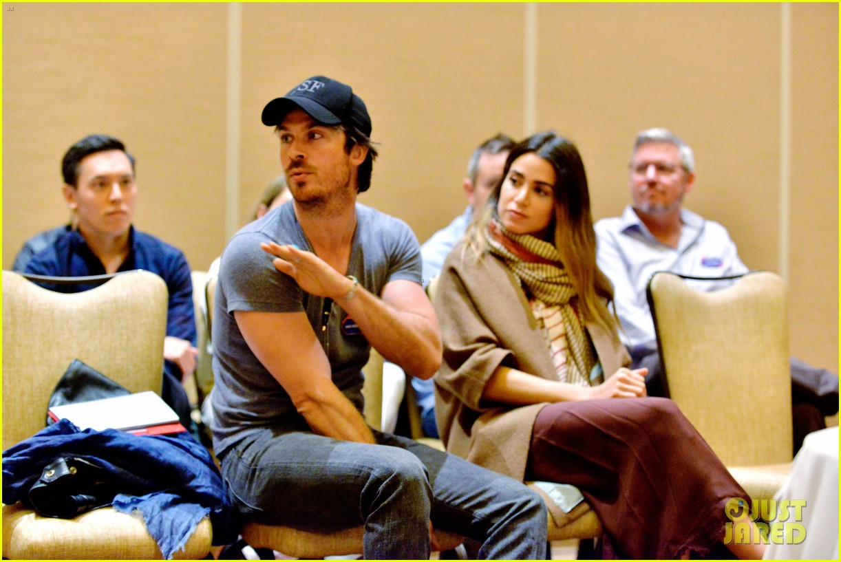 4717cfbad4fa Ian Somerhalder   Nikki Reed Couple Up At PTTOW Summit Benefit ...