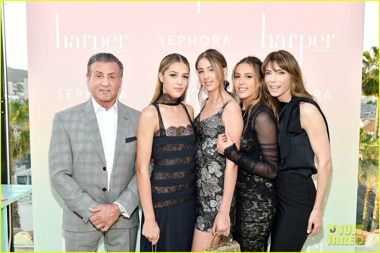 sophia sistine scarlet stallone celebrate their first mag cover at rooftop bash 013891122