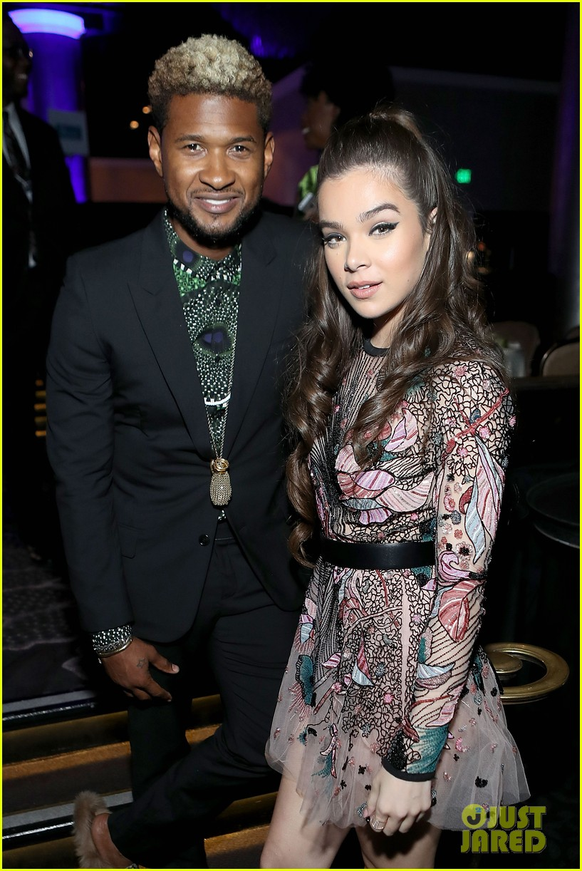 hailee steinfeld meets up with usher at jdrf imagine gala 2017 043889764
