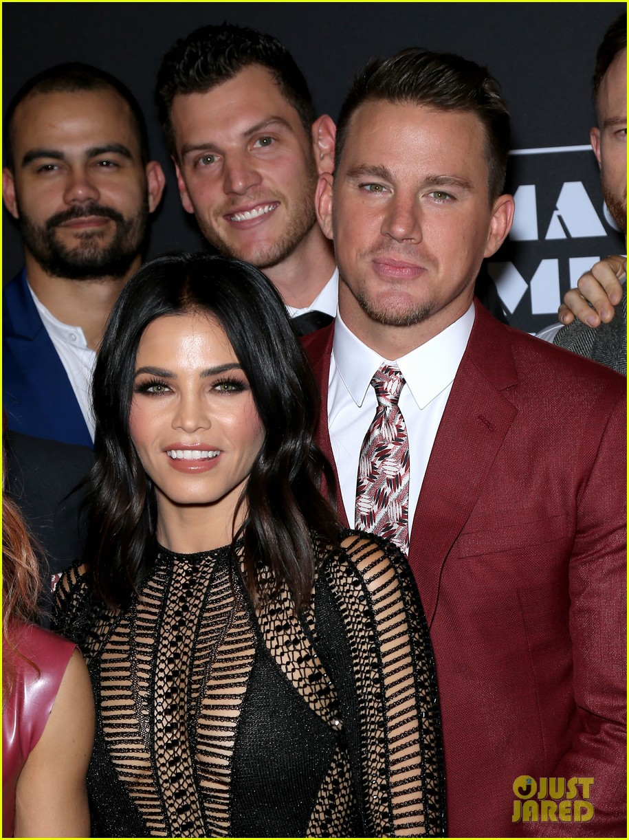 channing tatum jenna dewan magic mike live opening 303889362