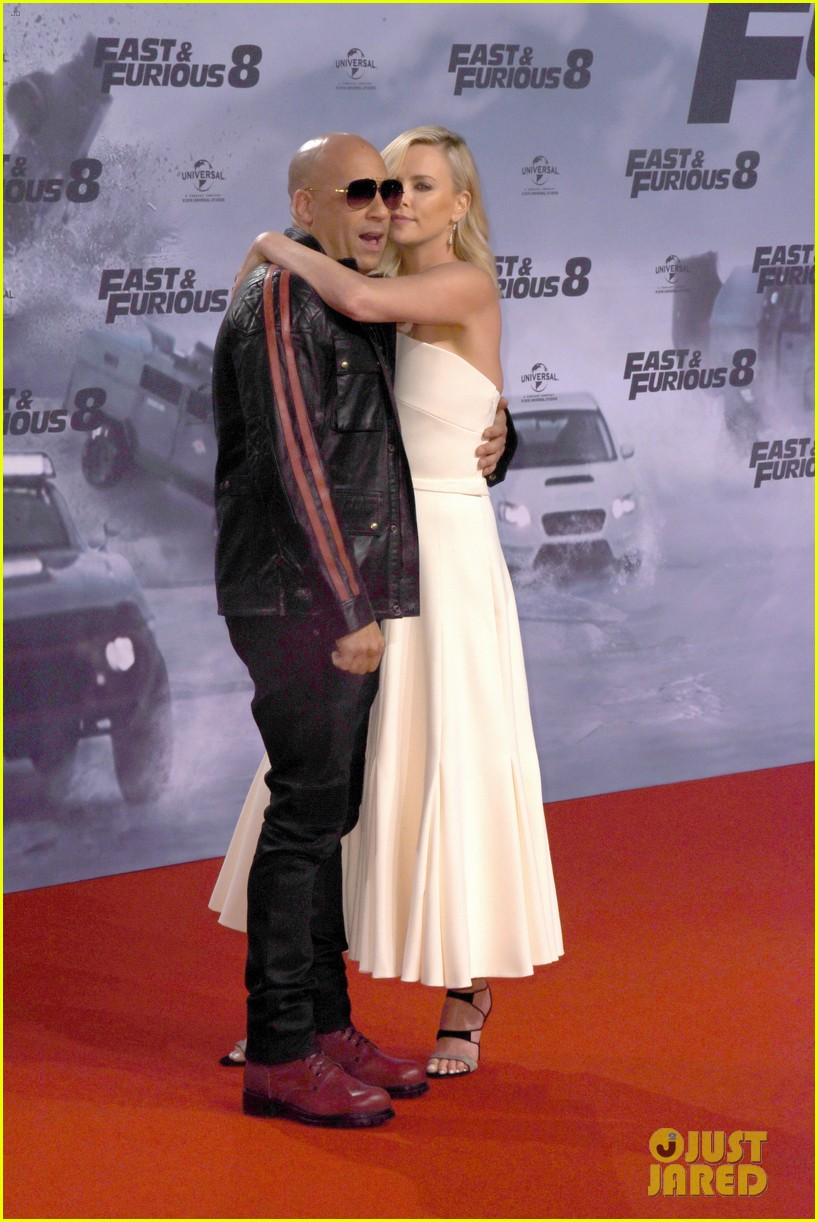 charlize theron vin diesel fate of the furious german premiere 053882028