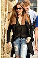 sofia vergara enjoys some down time in italy while filming bent 02