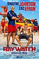 baywatch reveals new posters 01
