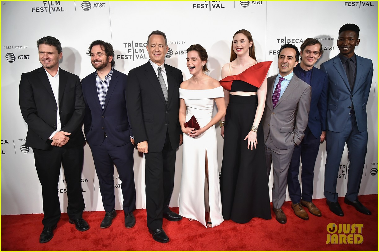 emma watson tom hanks premiere the circle at tribeca 033890969