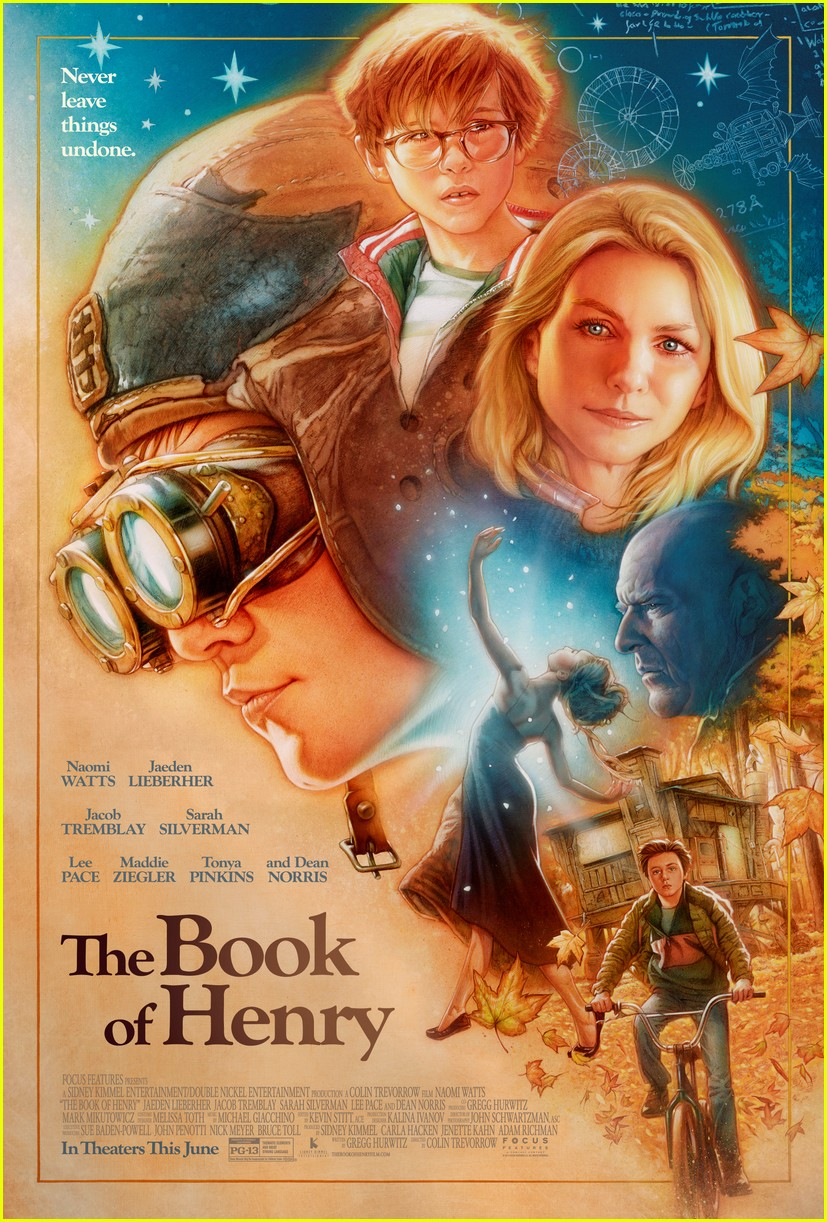 naomi watts is a loving mother in official book of henry poster 023883734
